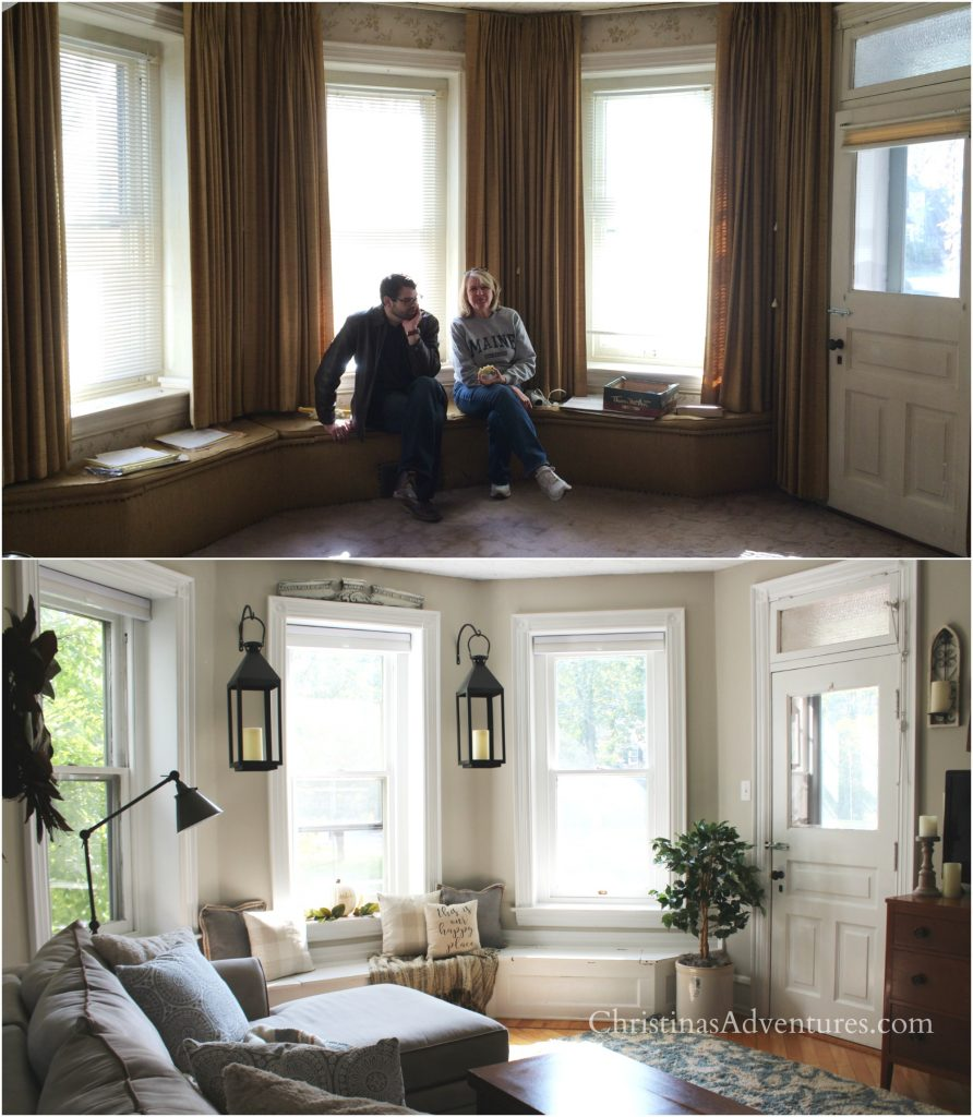 fixer upper family room makeover before and after