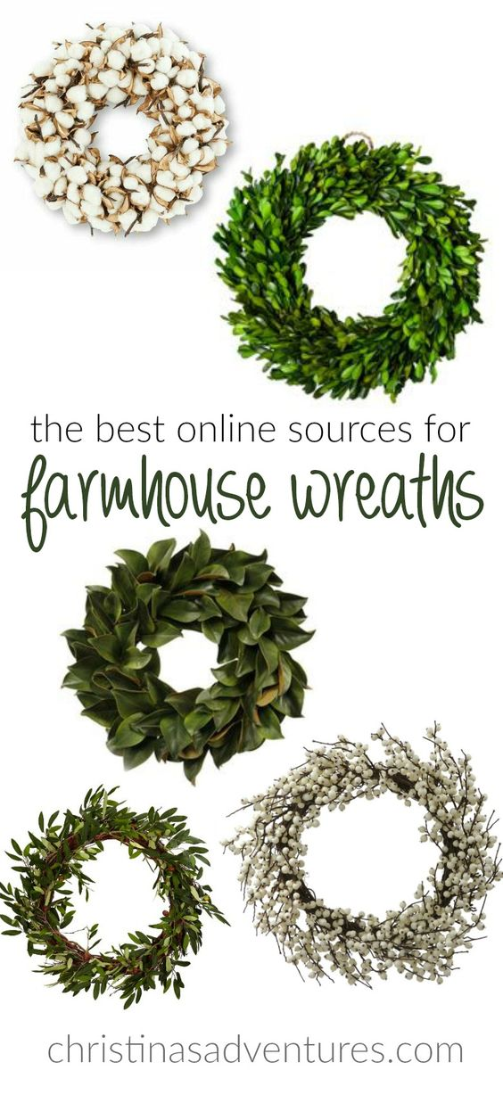 The Best Places To Find Farmhouse Wreaths Online