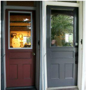 DIY door makeover (in one weekend!)