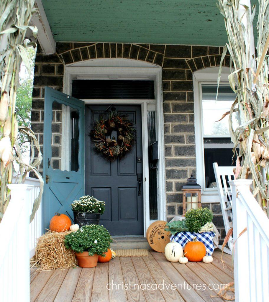 gray-fall-front-door