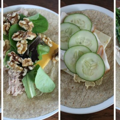 4 healthy wrap recipes (with 4 ingredients or less)