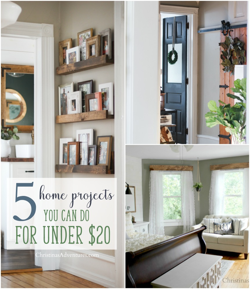 5 home projects you can do on a small budget