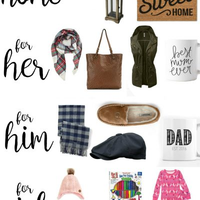 Christmas Gift Guide: for her, him, kids and home