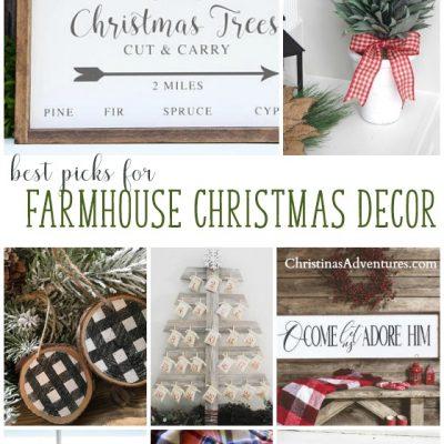 Farmhouse Christmas Home Decor