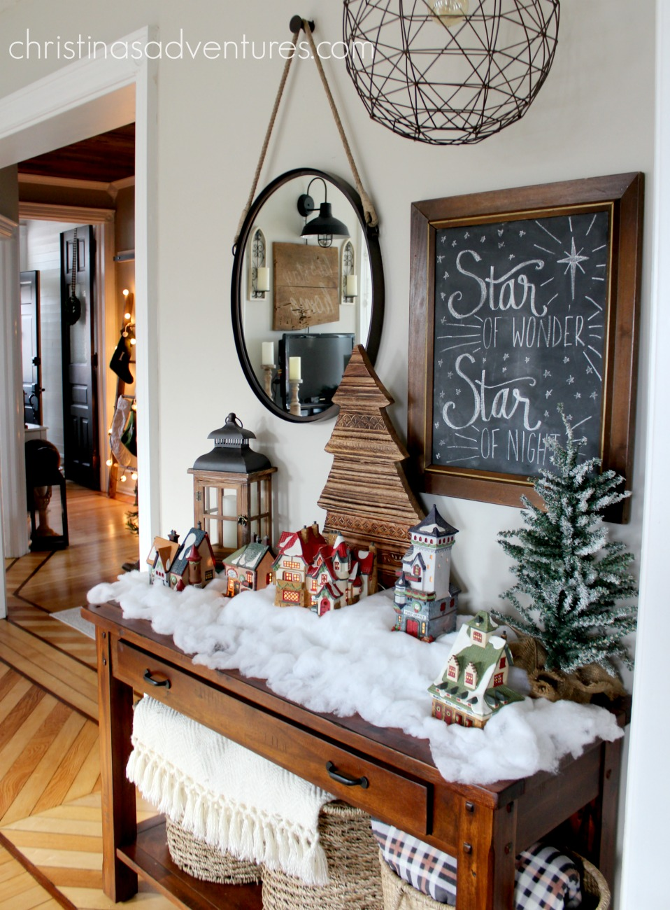 farmhouse christmas decorating ideas - Farmhouse Christmas Decor