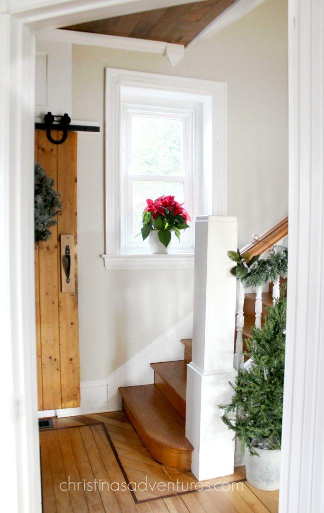 christmas-wood-staircase