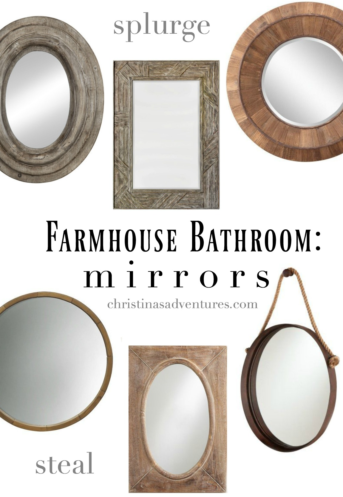 Farmhouse Bathroom Design Christinas Adventures