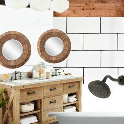 Farmhouse Bathroom Design Elements and Sources