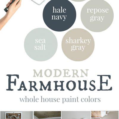 Our house: Modern Farmhouse Paint Colors