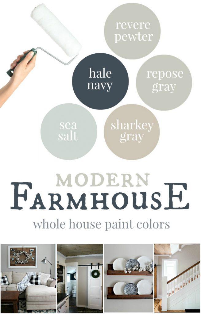 Our House Modern Farmhouse Paint Colors Christinas