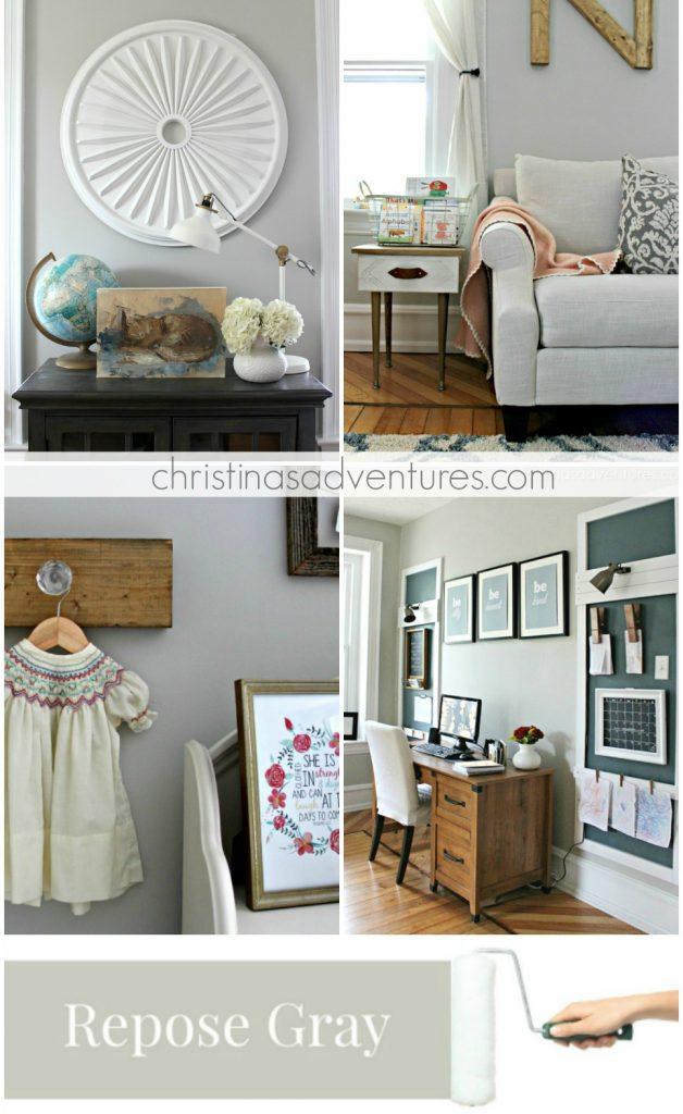 our house modern farmhouse paint colors christinas adventures. Black Bedroom Furniture Sets. Home Design Ideas
