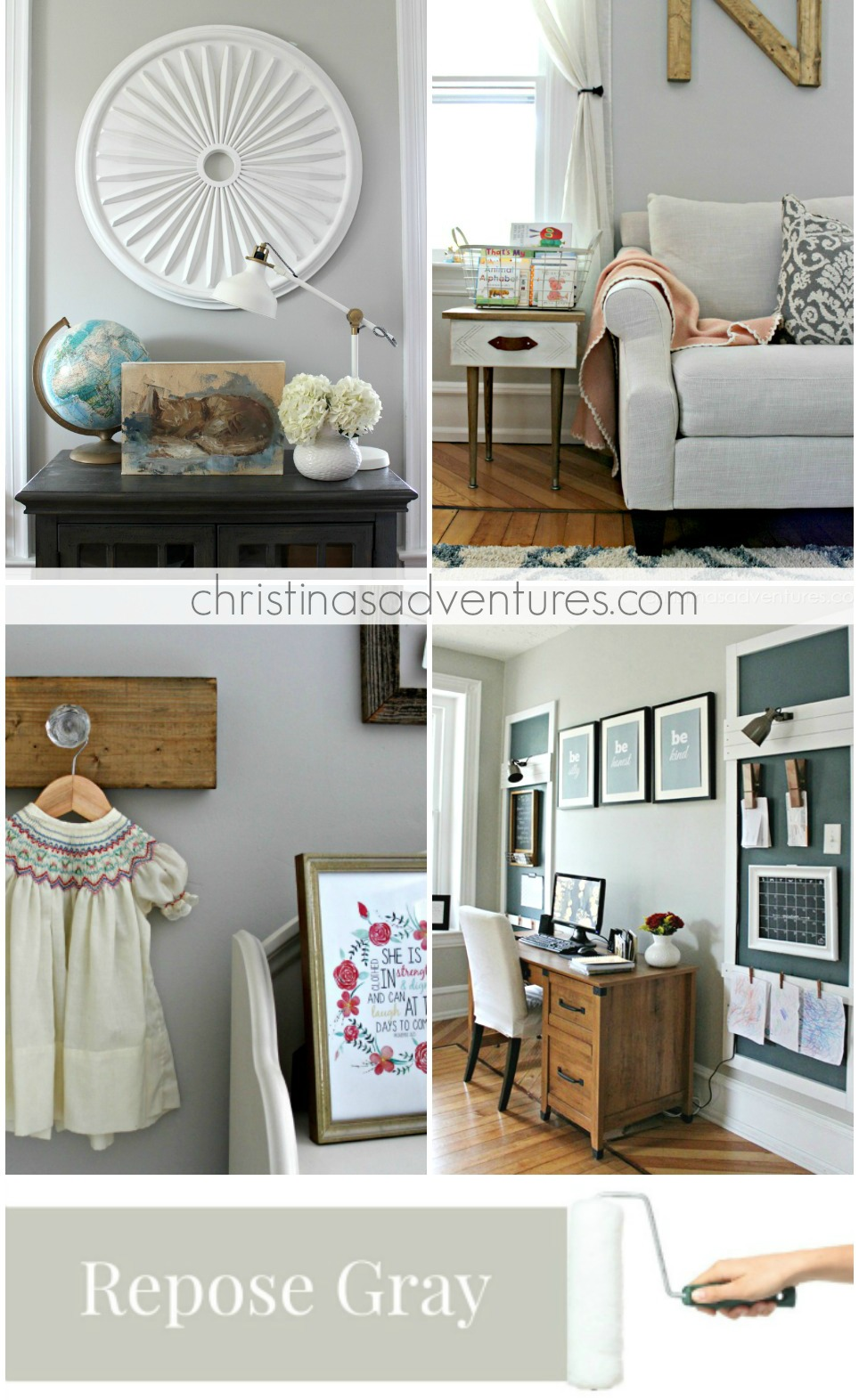 Sherwin Williams Repose Gray Modern Farmhouse Paint Colors Part 86