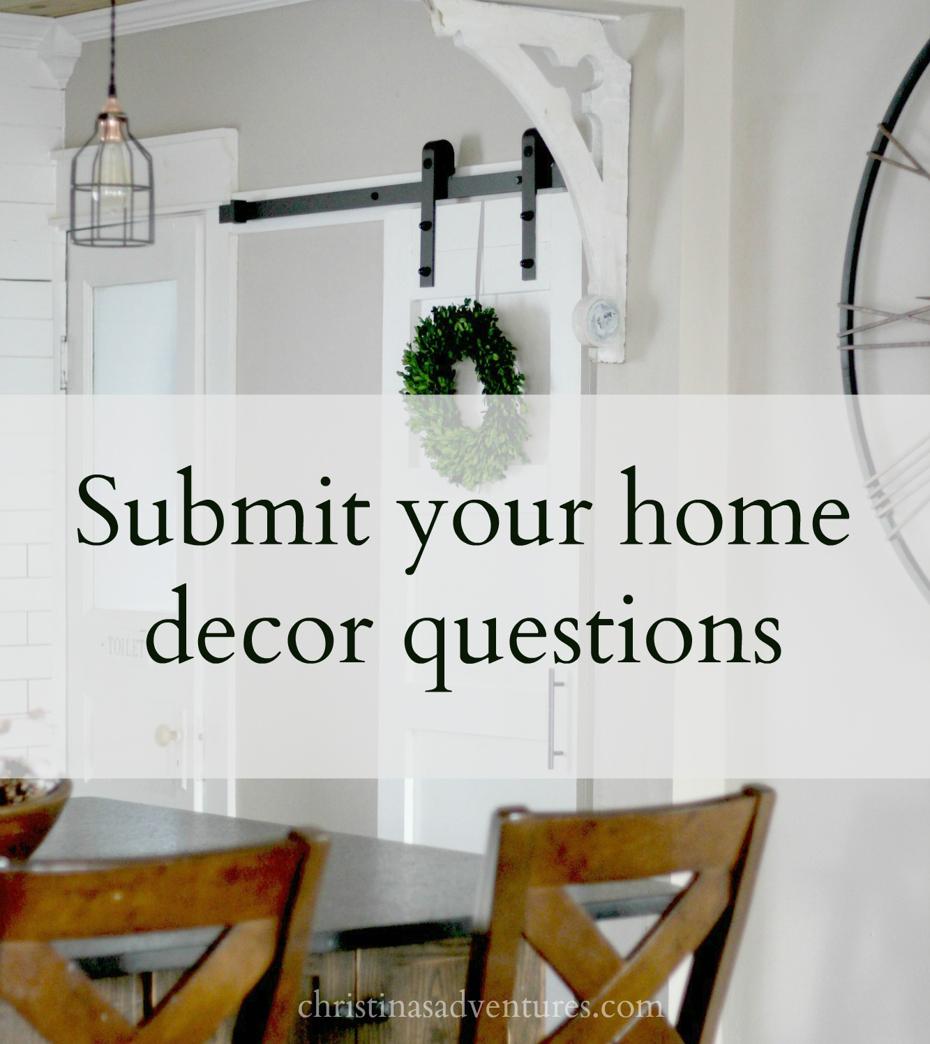 Submit your home decor questions for a facebook live for Home decor questionnaire