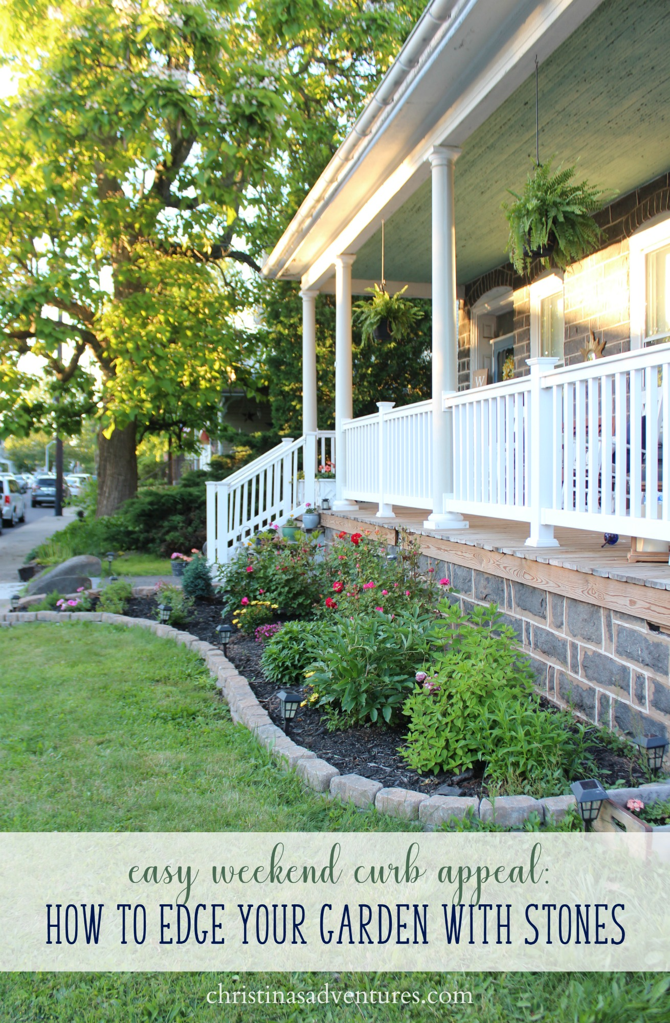 Easy curb appeal: Garden Edging