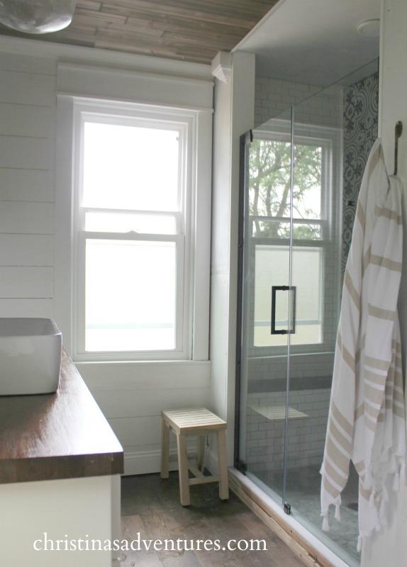 walk in shower design christinas adventures. Black Bedroom Furniture Sets. Home Design Ideas