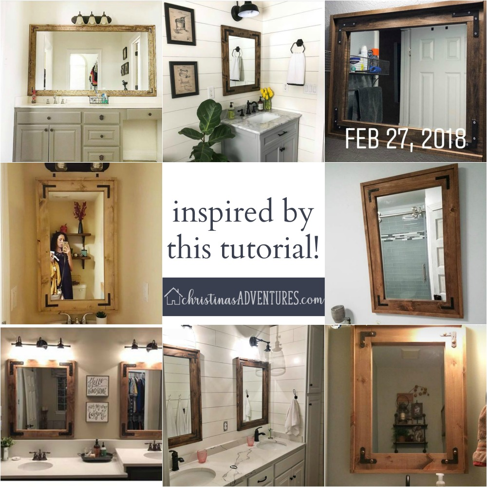 991455cd9690 If you make this mirror with this tutorial – PLEASE share it with me on  Instagram or Facebook! I d love to see it and share your hard work!