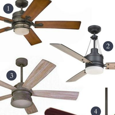 Where to buy farmhouse ceiling fans online