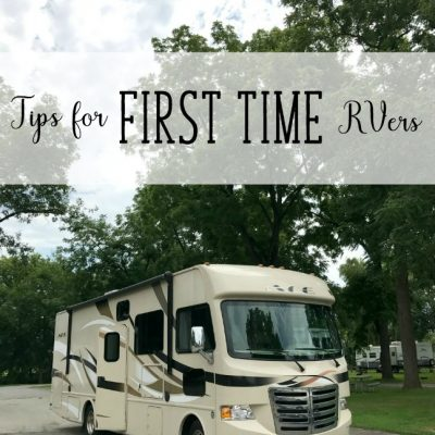 Tips for first time RVers