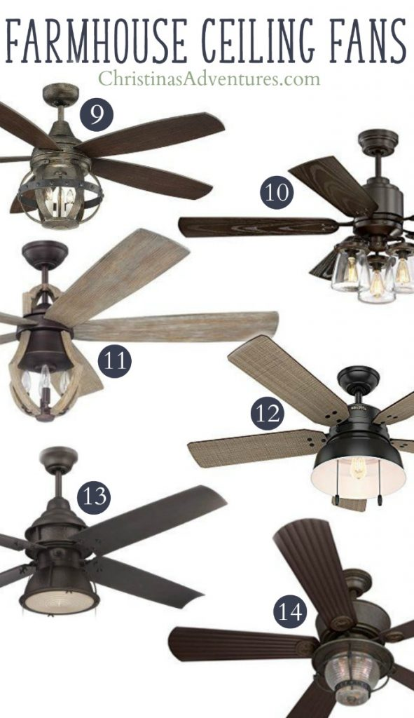 Unique farmhouse ceiling fan