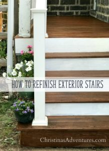 How to refinish a porch