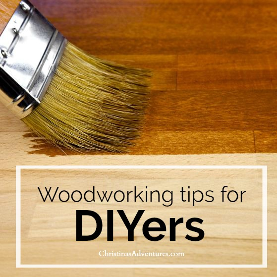 Woodworking tips for DIYers
