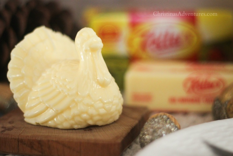Keller's butter turkey sculpture