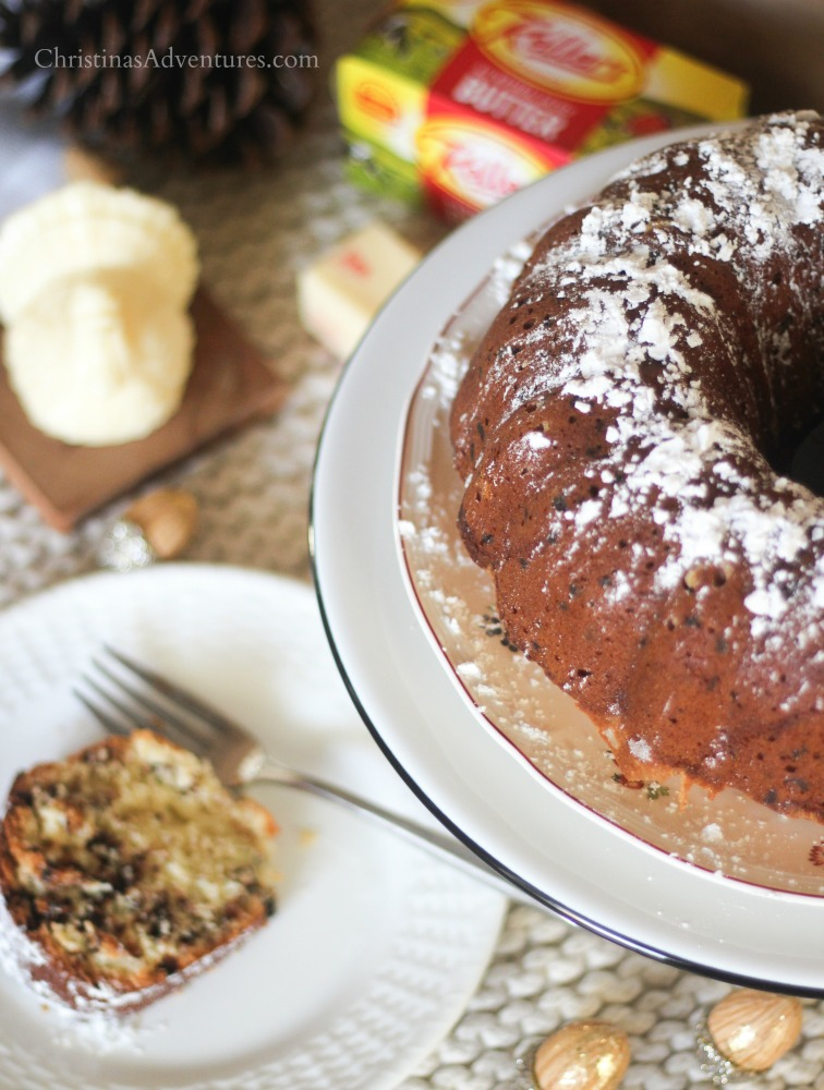 Thanksgiving dessert chocolate chip pound cake recipe