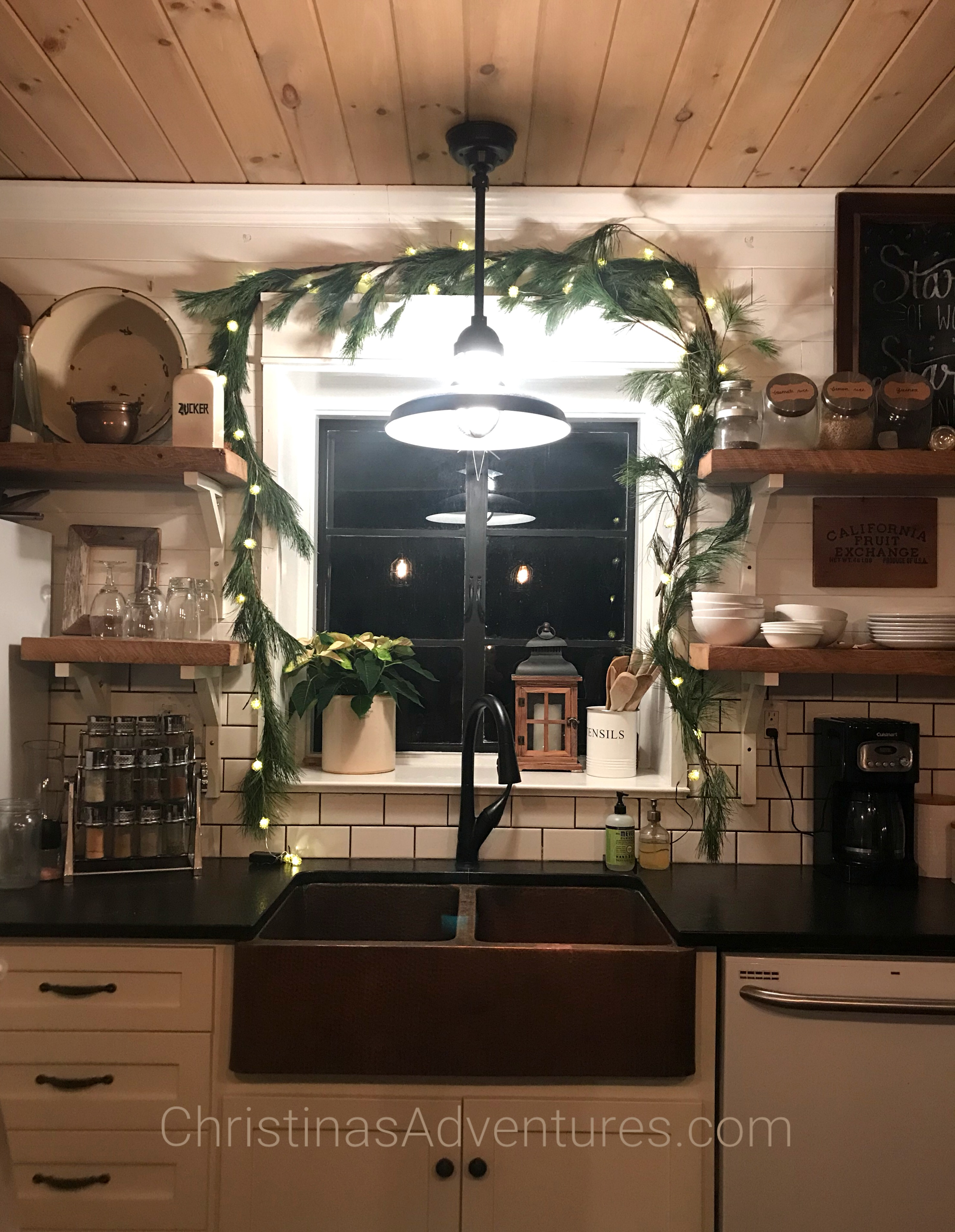 Casual Christmas House Tour