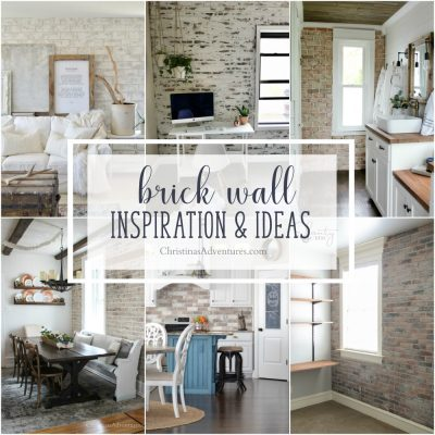 Interior brick wall inspiration & ideas