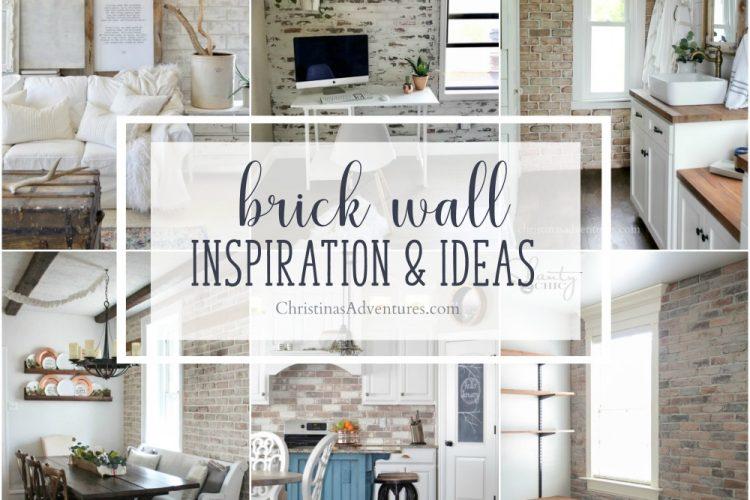 Interior brick wall inspiration & ideas