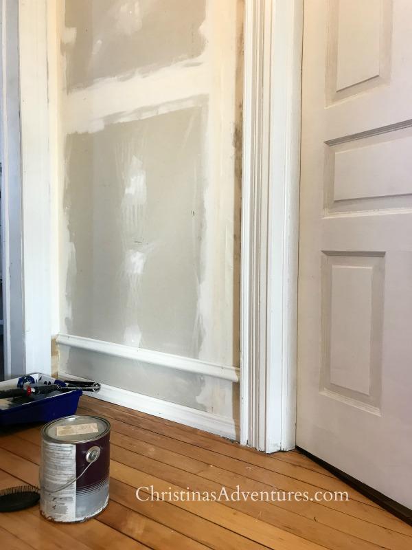 hallway molding old house trim