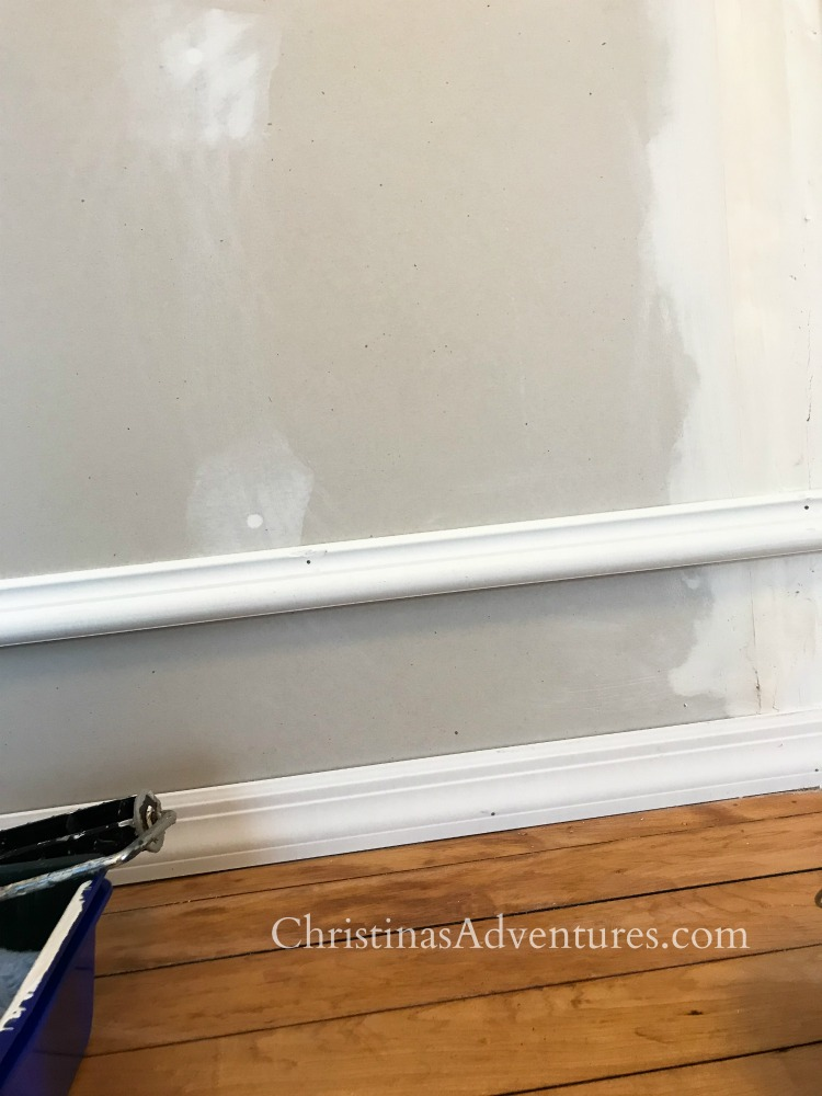 how to fake old molding