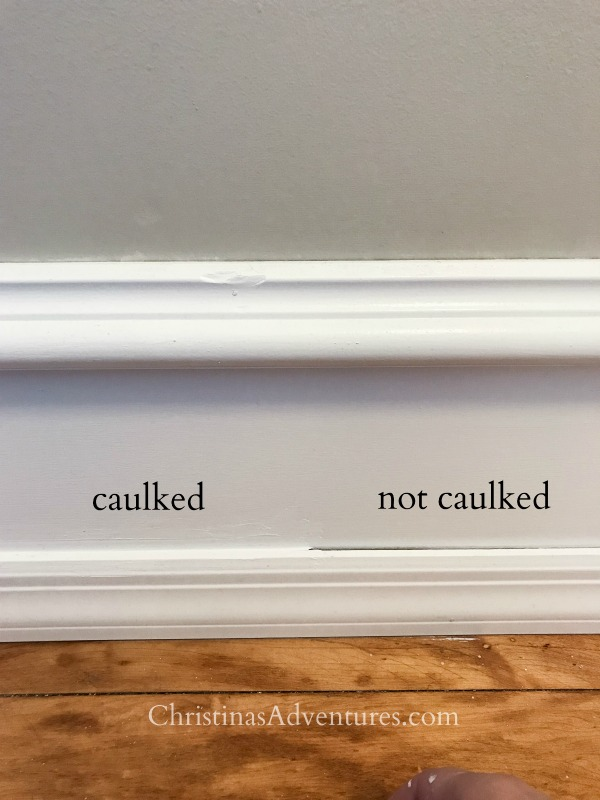 the importance of caulking trim
