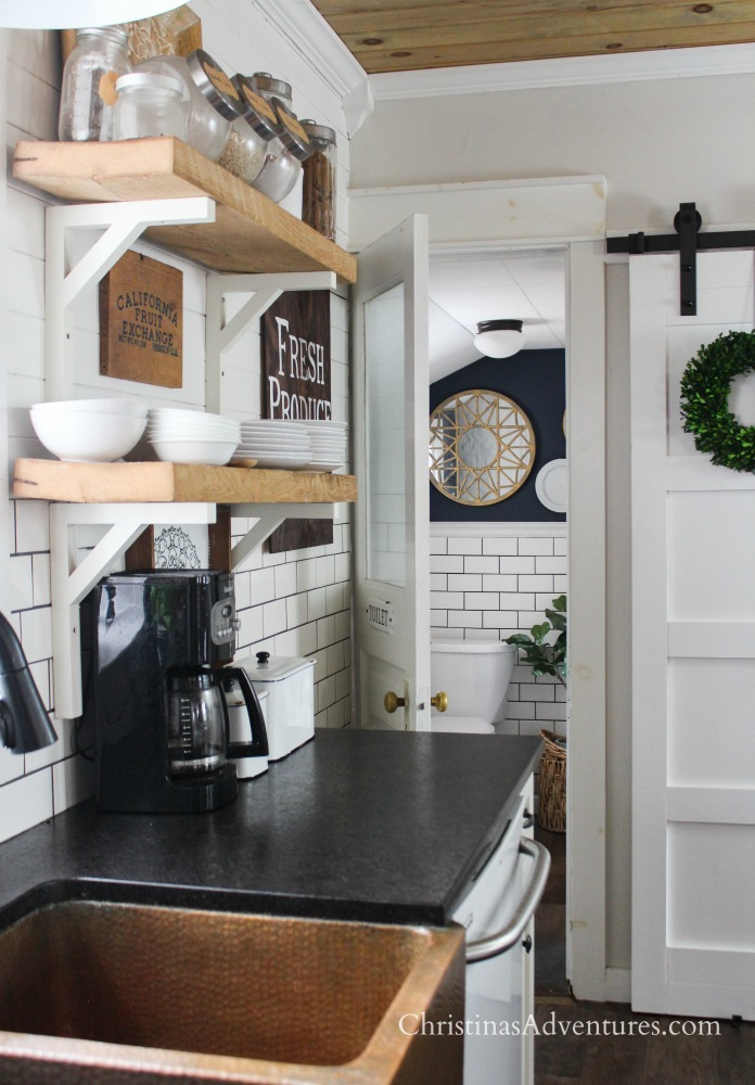 Leathered Granite Counter Tops - Christina Maria Blog on Farmhouse Granite Countertops  id=54584