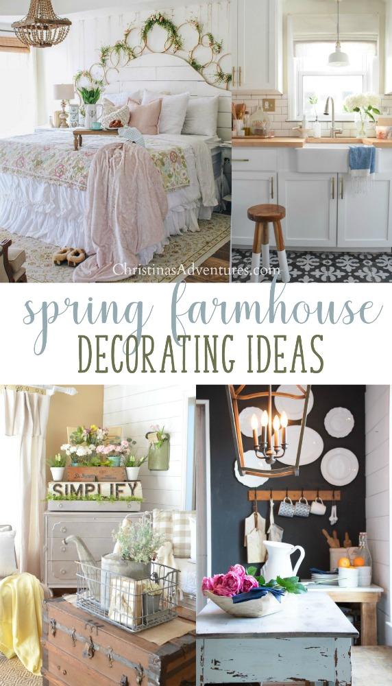 Home Design Ideas Youtube: Spring Farmhouse Decor