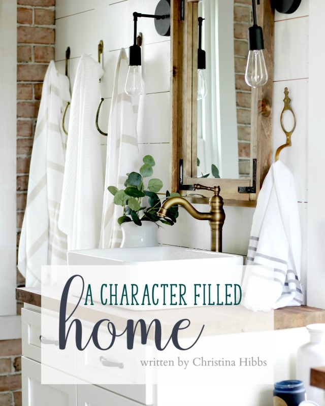 A Character Filled Home: my brand new ebook will show you how to add character to your home through architectural elements, mixing metals and wood tones, and many more design tips.