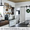 Our farmhouse kitchen – thoughts years after our renovation
