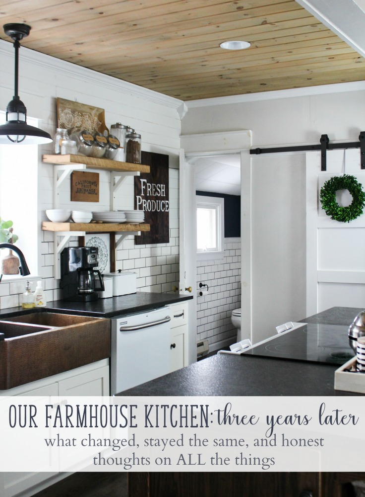Our Farmhouse Kitchen Thoughts Years After Our