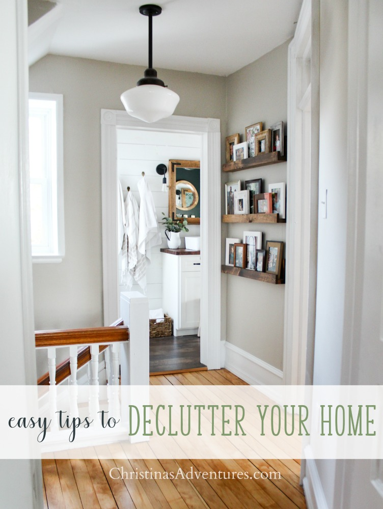 Easy tips to declutter your home