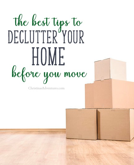 The best tips to declutter your home before you move
