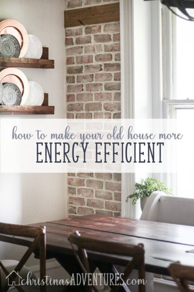 How to make your old house more energy efficient