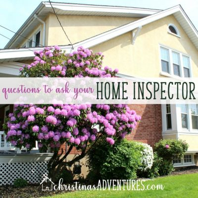 Questions to ask your home inspector