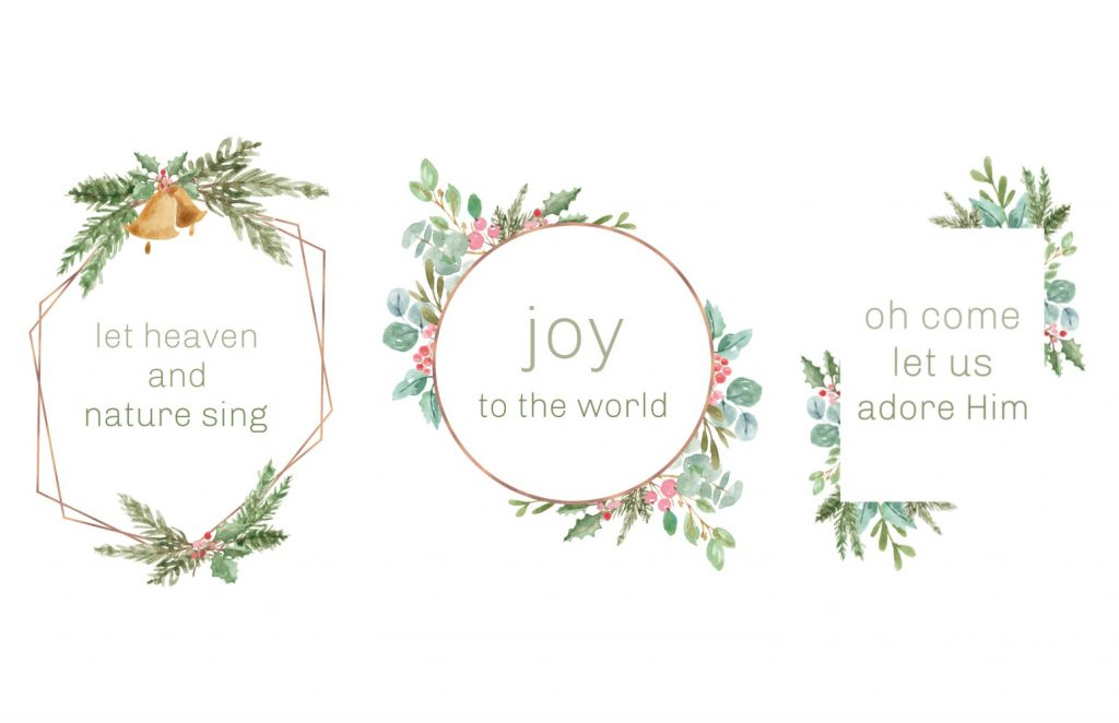 free simple Christmas printables