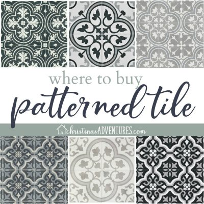 Where to buy patterned tile online