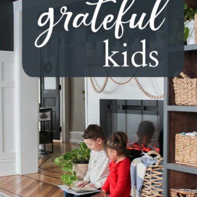 Raising grateful kids