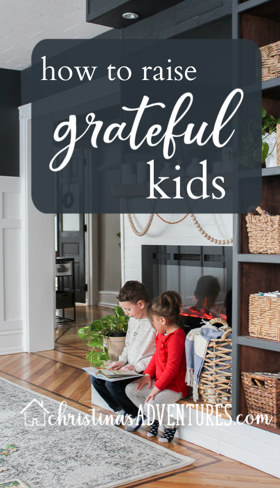 how to raise grateful kids