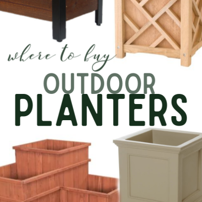 Where to buy outdoor planters onlines