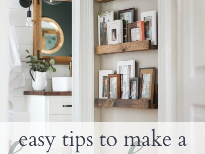Simple tips to make a house a home