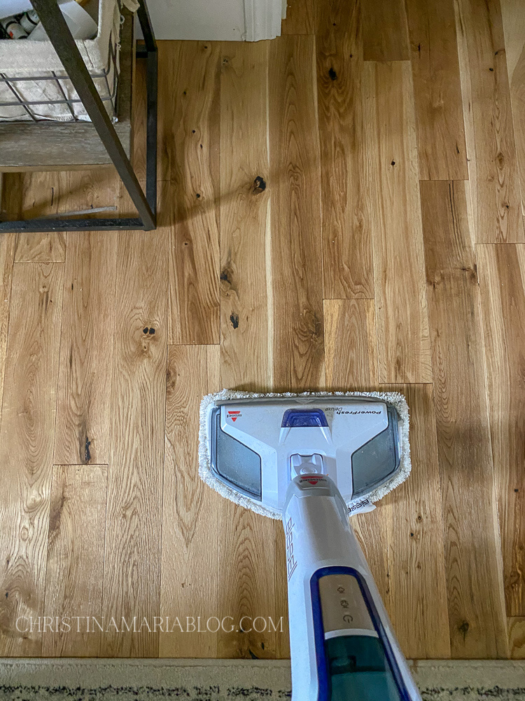 Bissel steam mop for wood floors