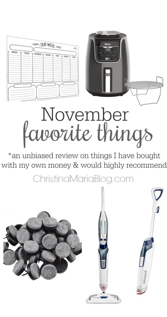 favorite things November : things I have bought and loved this month